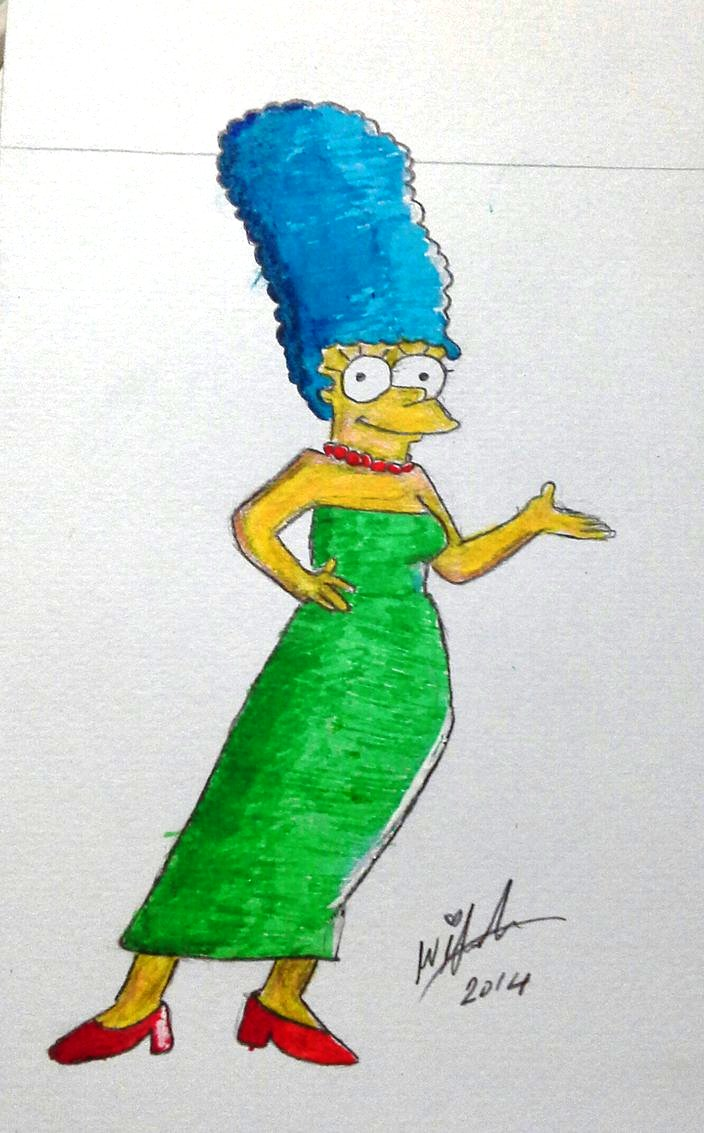 Marge Drawing by Wirsha
