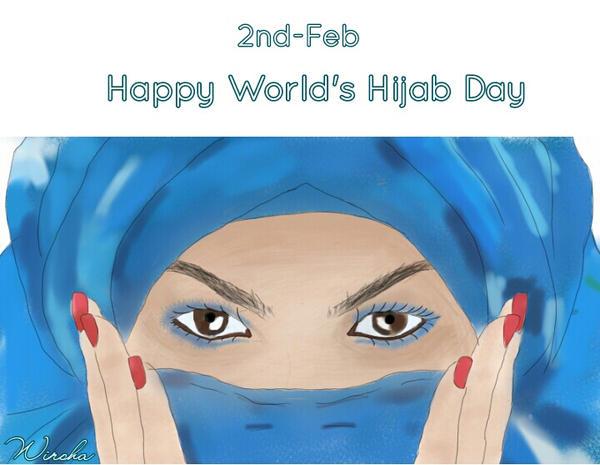 World's Hijab Day by Wirsha