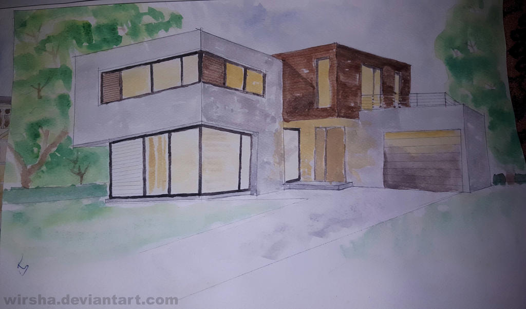 Rendering with water color 02 by Wirsha