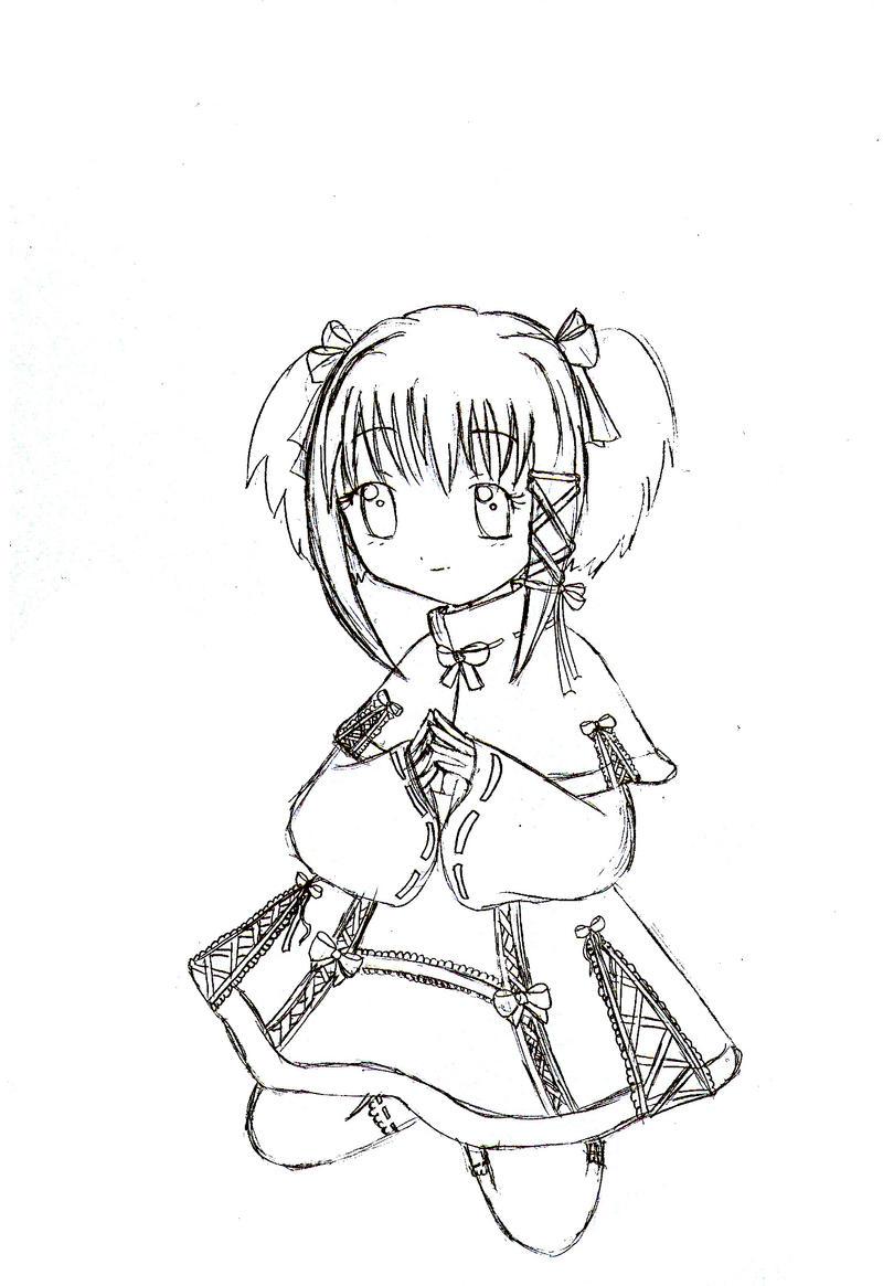 Little Kaede_Main by hikari-hinata-chan