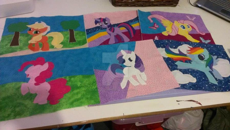 My Little Pony Quilting blocks by dragonstooth257 on DeviantArt : pony quilt - Adamdwight.com