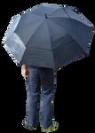 Holding Umbrella 2
