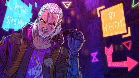 Crossover The witcher cyberpunk 2077