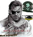 Big Boss - VENOM SNAKE. Metal Gear Solid V- WIP by GabrielArtist