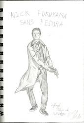Nick Fukuyama Concept Sans Fedora by SpaceMarines2