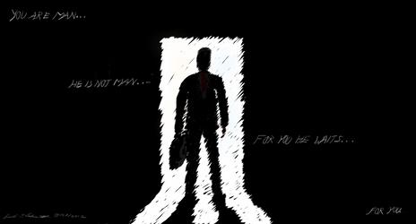 He is not Man...