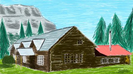 Skoki Lodge by SpaceMarines2