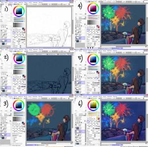 coloring progress + tips?