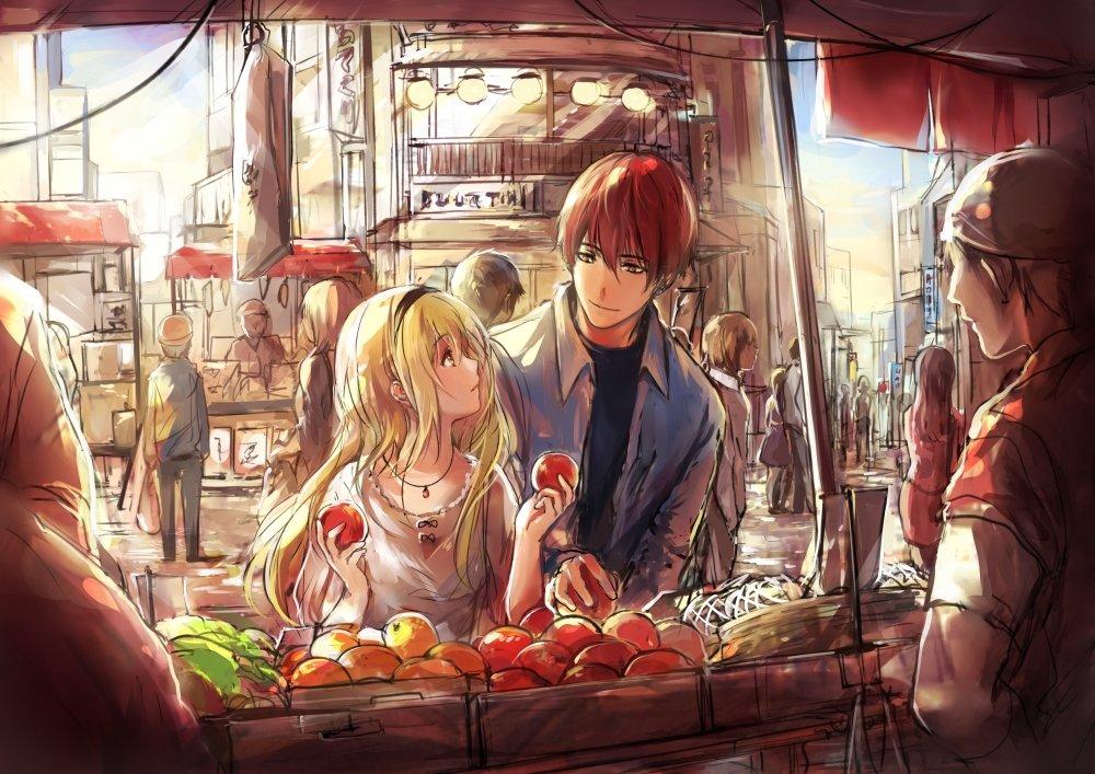 morning market by pancake-waddle