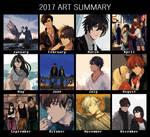 2017 art meme