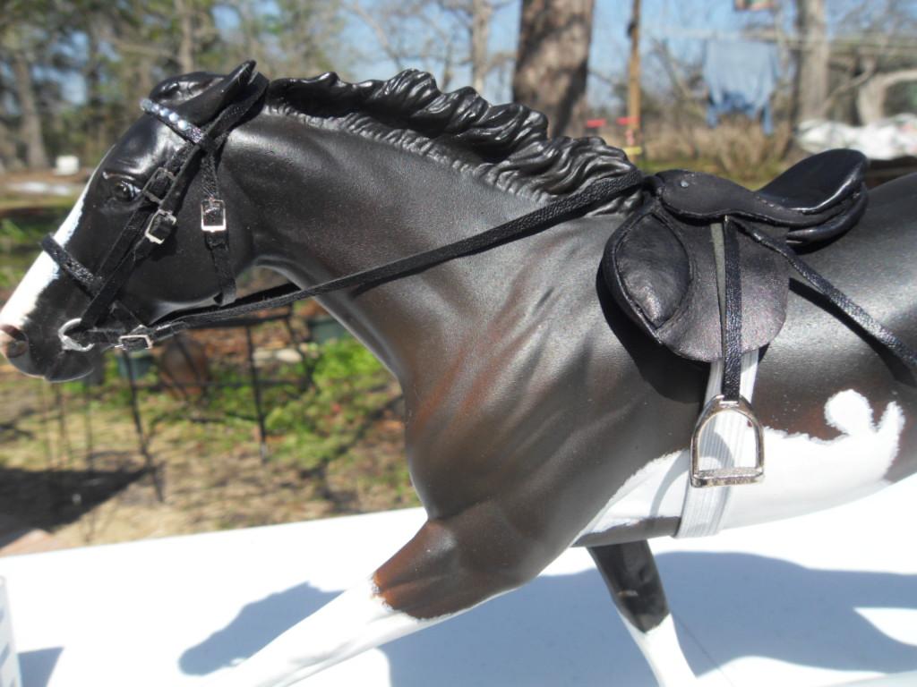 My first english saddle set!