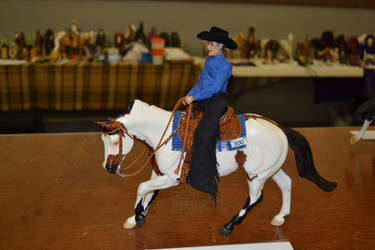 Artist resin model horse western performance by LazyHcustomtack
