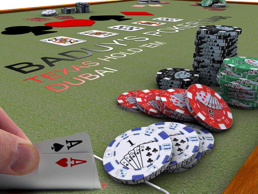Texas holdem poker bet