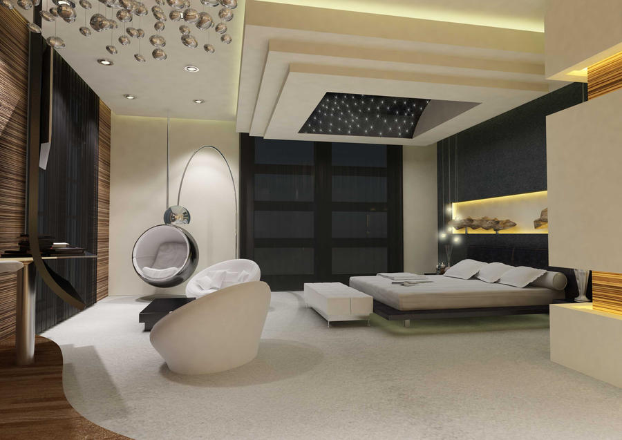 Bedroom Concept View  By Unrealitydoze