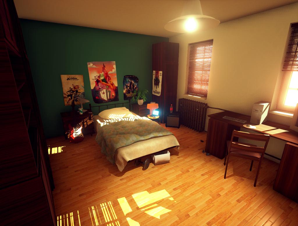 Bedroom Lighting Study by mOOg267