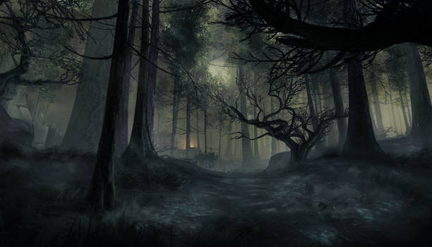 Haunted Forrest - Guild Wars 2