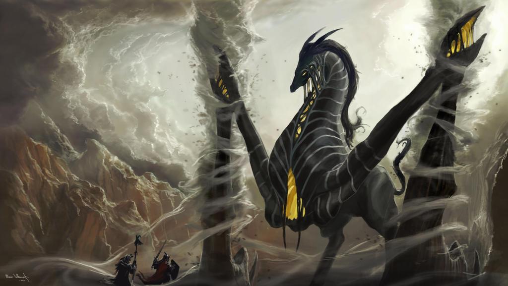 Colossus of Wind by Aravan100