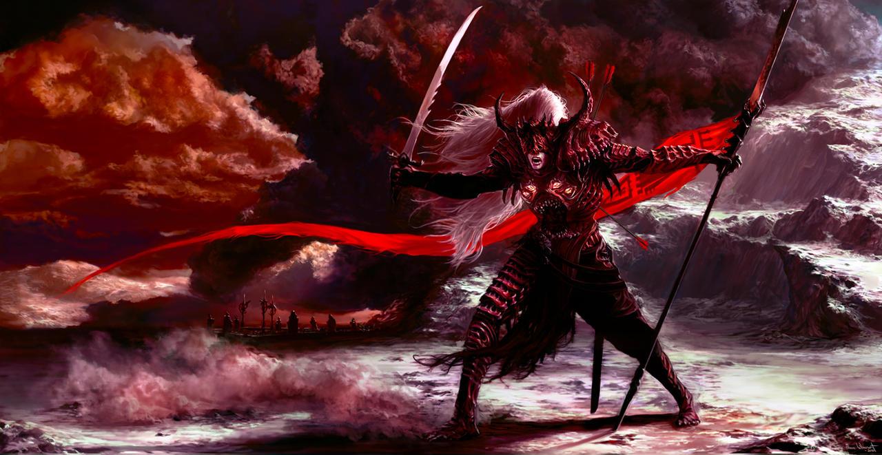 Feral Knight by Aravan100