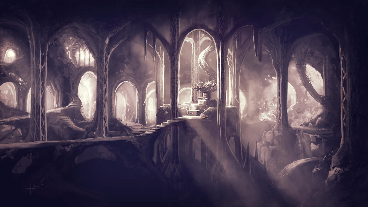 The Eleven Kings Hall by Caoranach