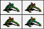 Seriken Turtles4 Sands Mini