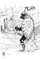 Koschei the Deathless by vladlegostayev