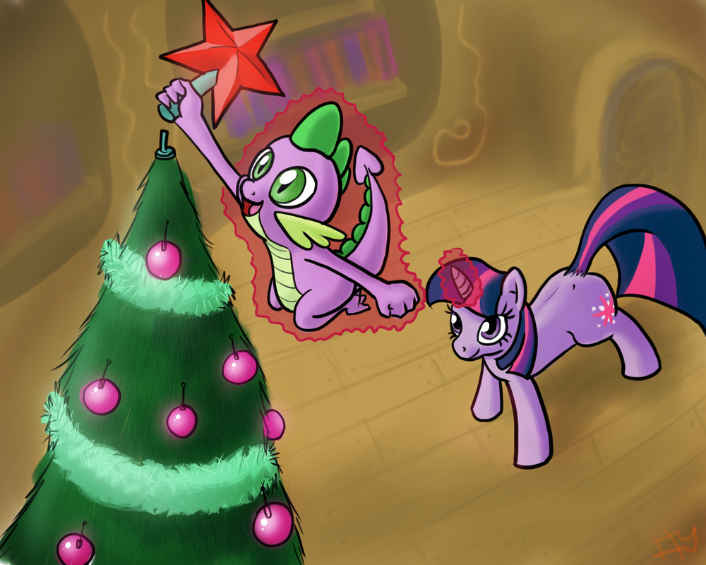 [Imágenes] Imágenes navideñas de ponies
