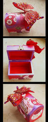 Red Butterfly Box by Sompy-Stuff