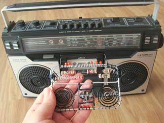 Radio Pendant by Sompy-Stuff