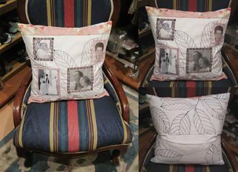 26th Aniversary Pillow