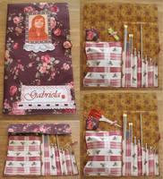 Portable Crochet-Tricot Kit