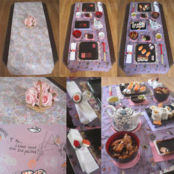 Oriental Tablerunner by Sompy-Stuff