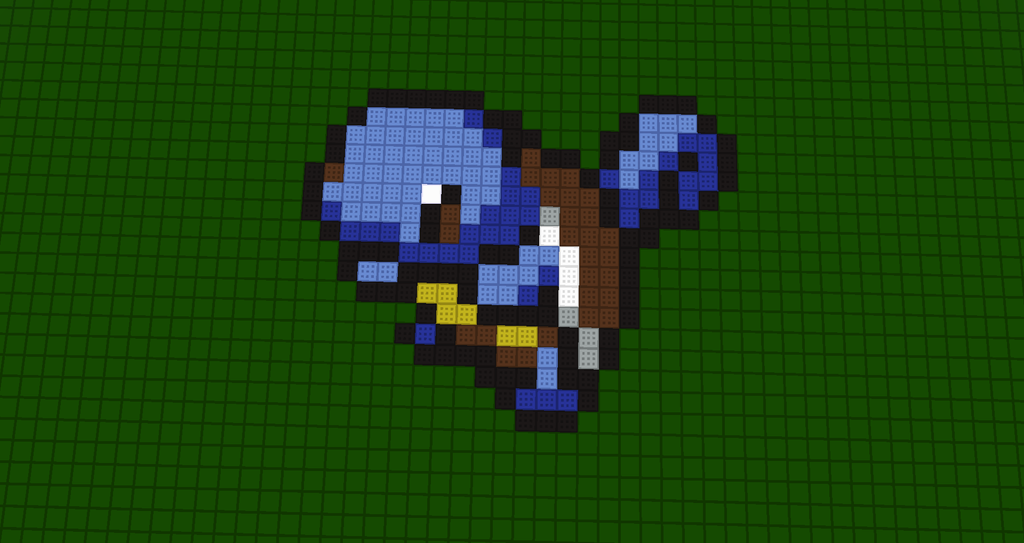 How To Build Squirtle In Minecraft