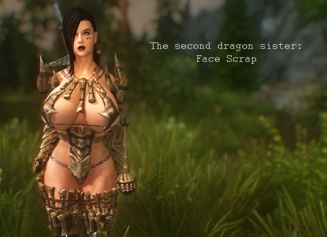 The Second Dragon Sister: Face Scrap by Toshihirohei