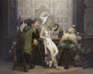 White witch's Bar
