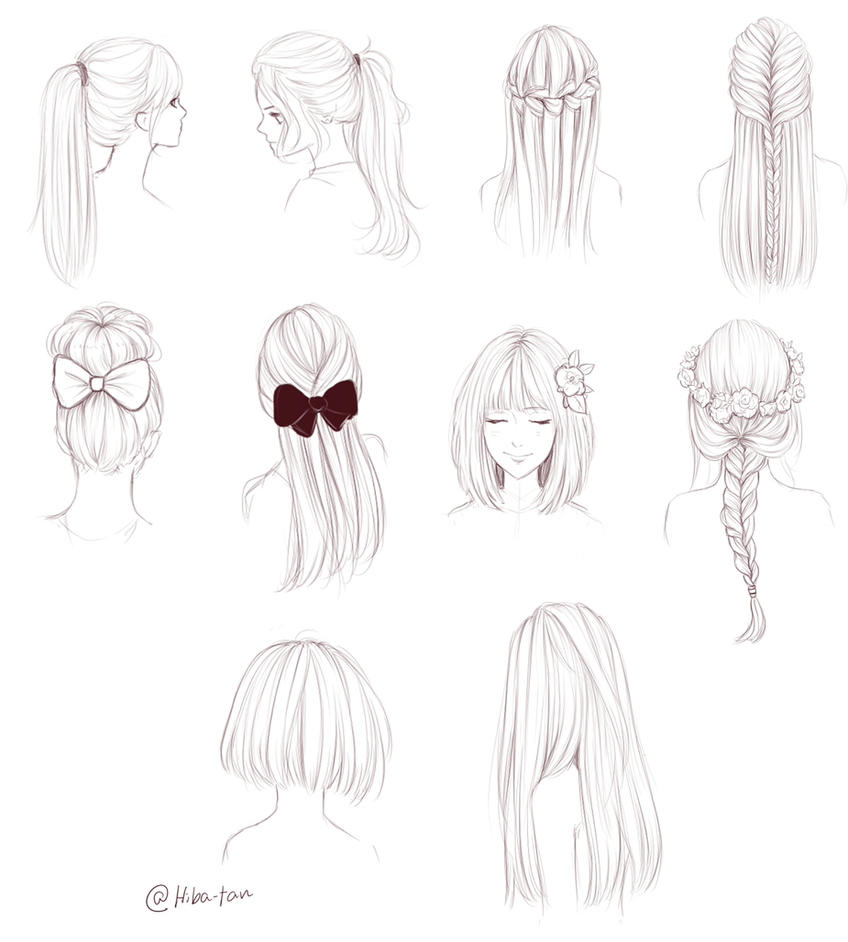 Hair Doodles By Hiba Tan On Deviantart