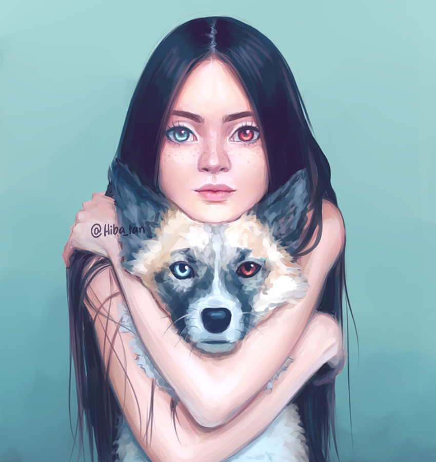 Heterochromia By Hiba Tan On Deviantart