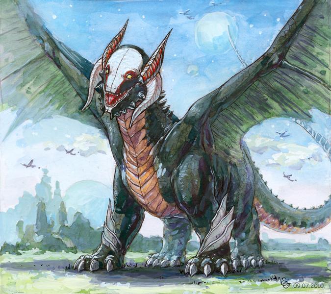 Dragon ___ by Katri-333