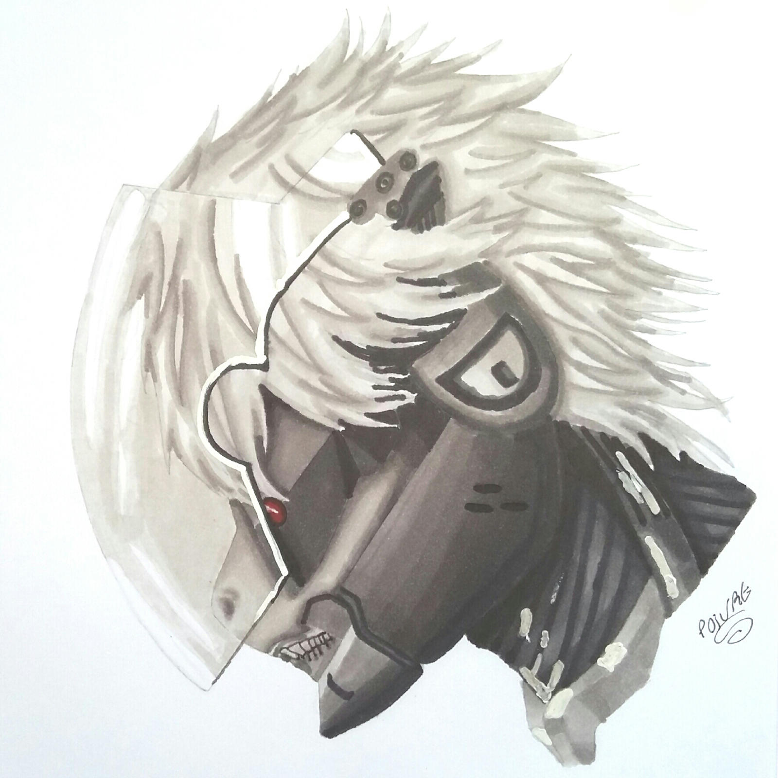 raiden metal gear solid pony by moondaneka