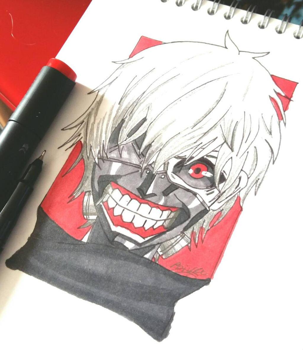Tokyo Ghoul Ken Kaneki by moondaneka
