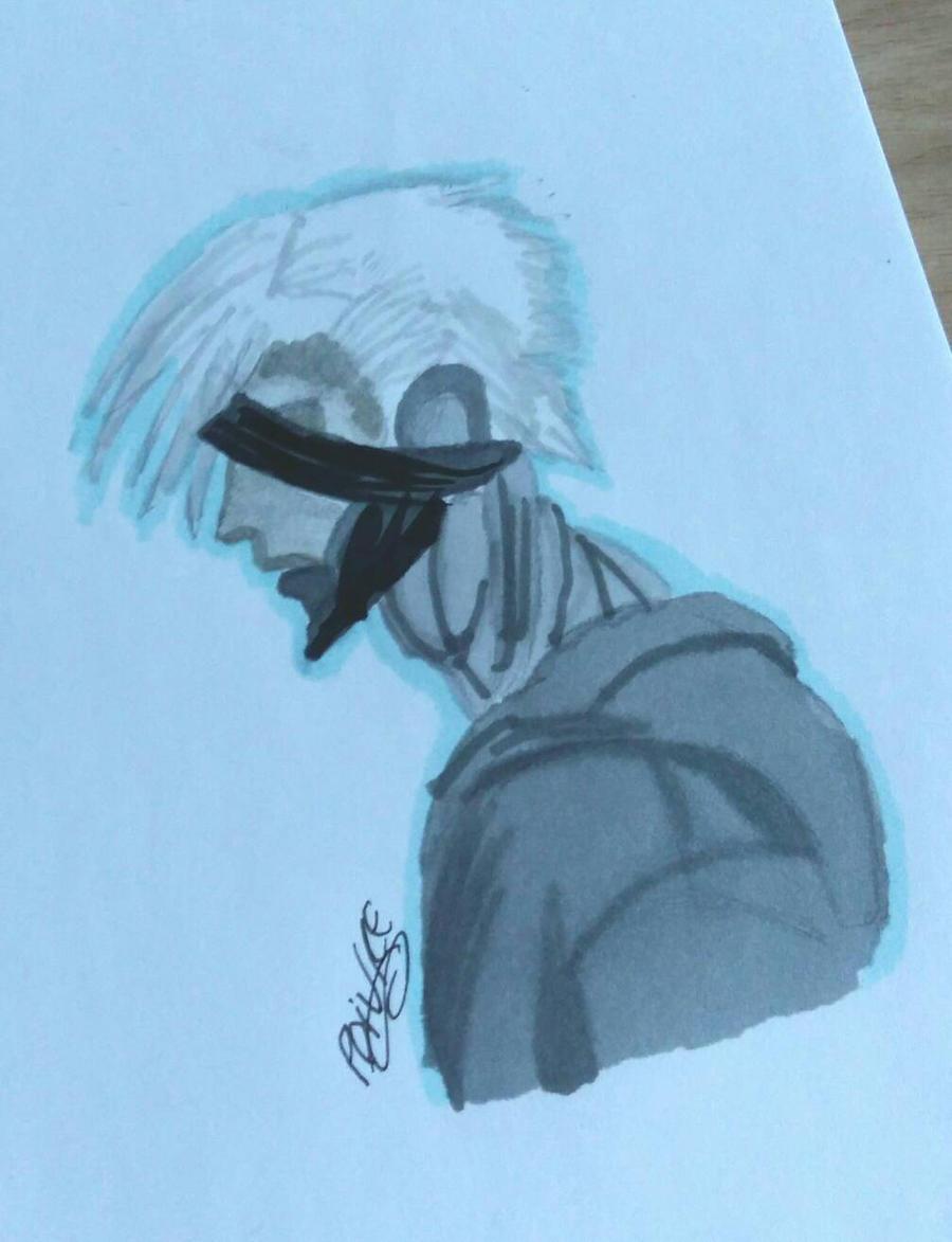 Metal Gear Raiden by moondaneka