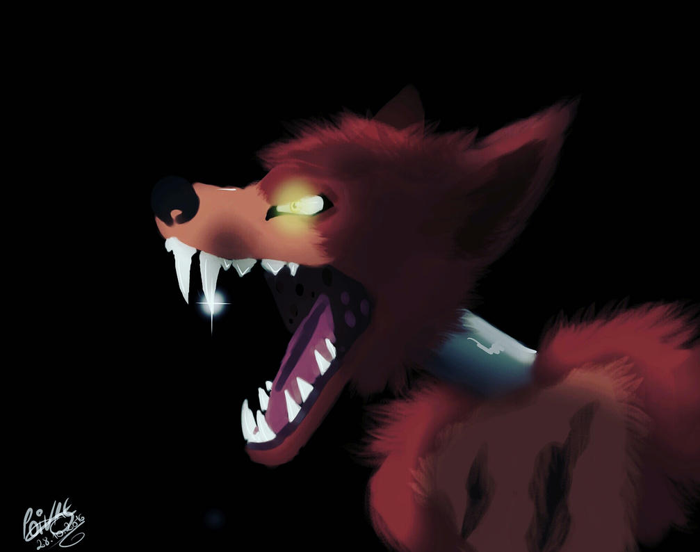 Fnaf Foxy by moondaneka