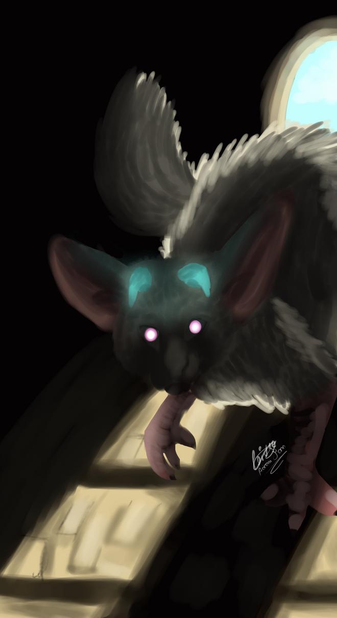 My oc Adrera of the last guardian by moondaneka