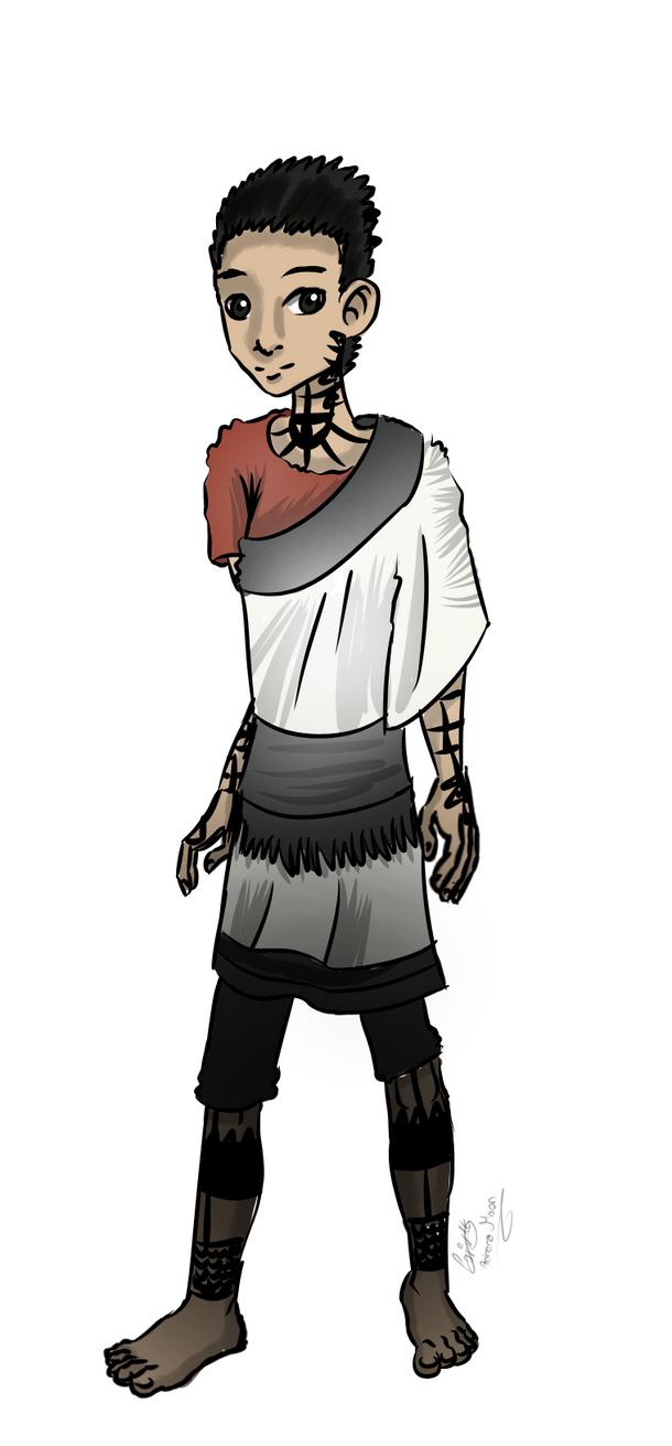 The boy the last guardian by moondaneka