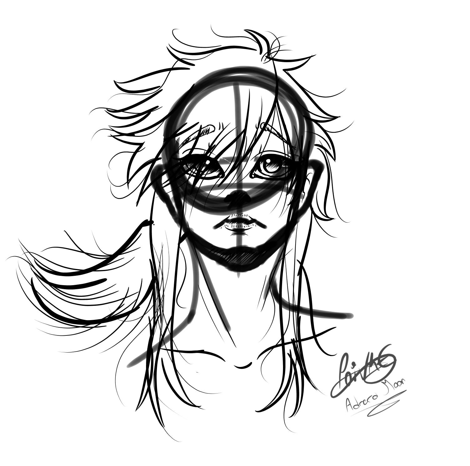 Digital sketch by moondaneka