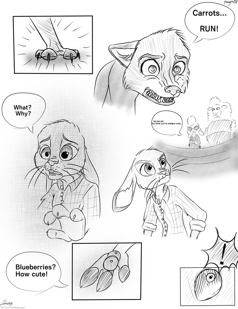 Zootopia comic - Savage pages02 by moondaneka
