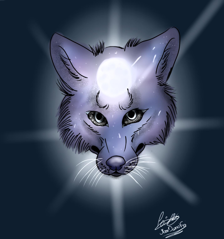 Galaxy Wolf by moondaneka