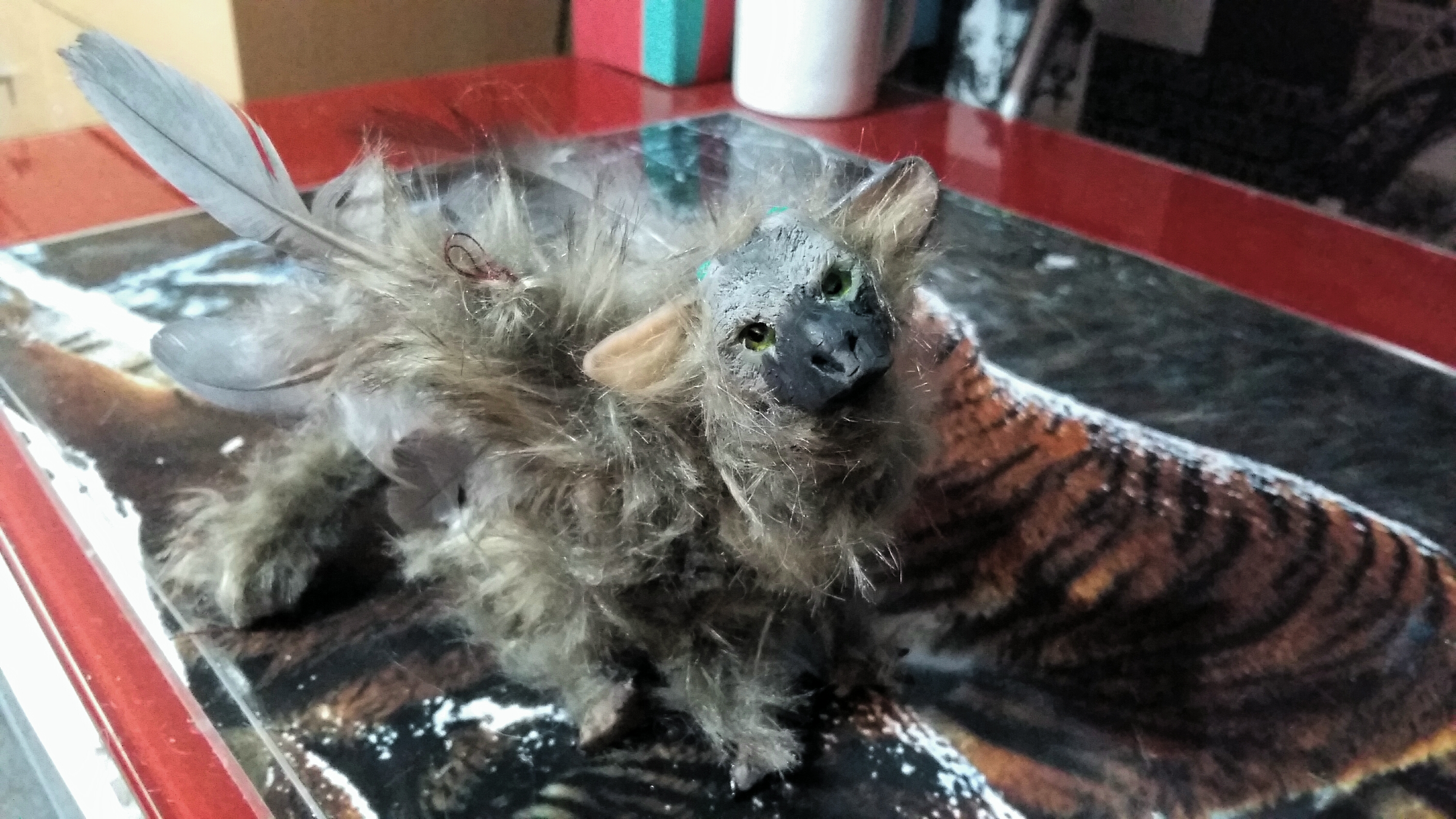 The Last Guardian baby Trico art doll by moondaneka