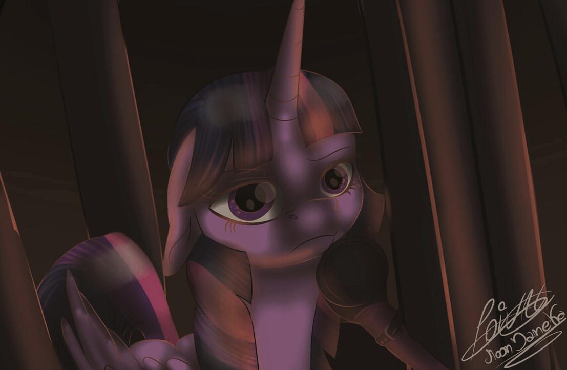 MLP the Movie Open up your eyes Redraw by moondaneka