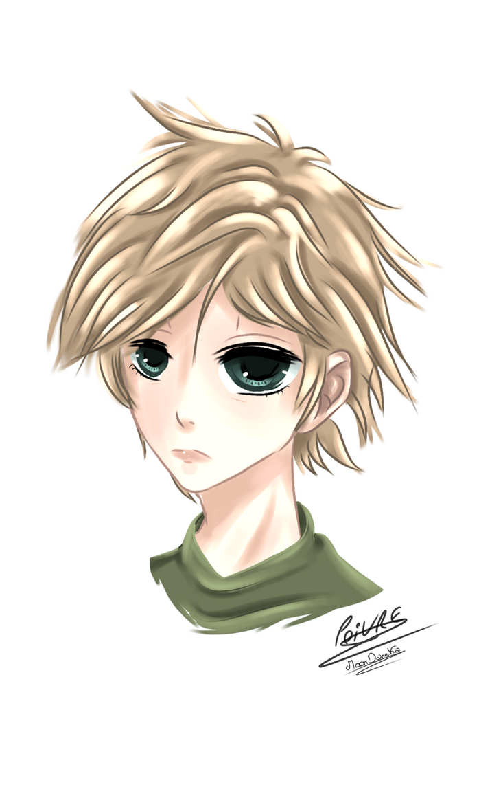 Anime Boy Genderbend Oc by moondaneka
