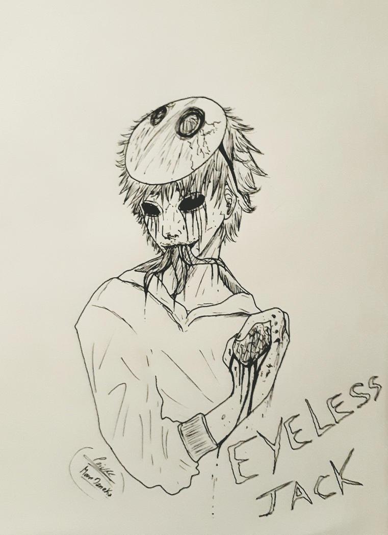 EyelessJack Fanart (creepypasta) by moondaneka